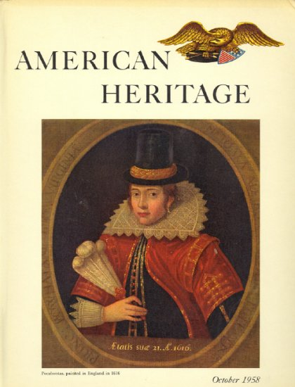 American Heritage Magazine Book ~ October 1958 ~ IX 6