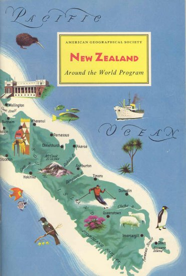 New Zealand ~ Around the World Program Book ~ 1959