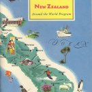 New Zealand ~ Around the World Program Book ~ 1959
