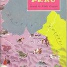 Peru ~ Around the World Program Book ~ 1958
