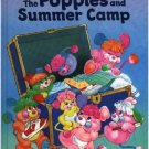 The Popples and Summer Camp ~ 1986 Hardcover Book