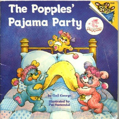The Popples Pajama Party ~ 1986 Paperback Book