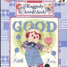 Raggedy Ann & Andy Good Little Boy ~ Cross-stitch Book