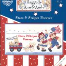 Raggedy Ann & Andy Stars & Stripes Forever ~ Cross-stitch Chart