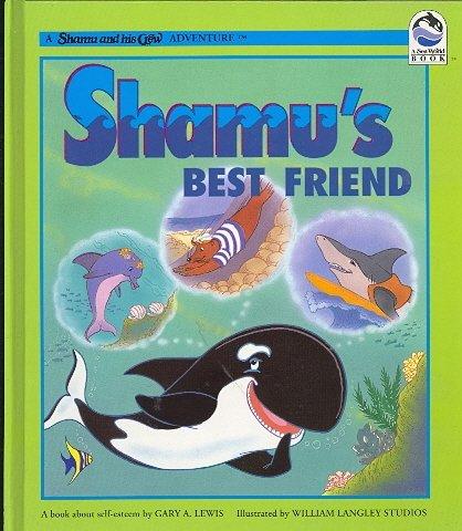 Shamu's Best Friend Book ( Shamu and His Crew ) ~ 1994 Sea World