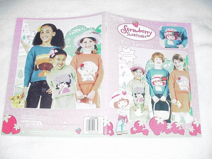 Strawberry Shortcake Knit Sweaters Booklet