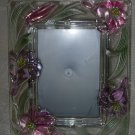 Glass Flowers Picture Frame