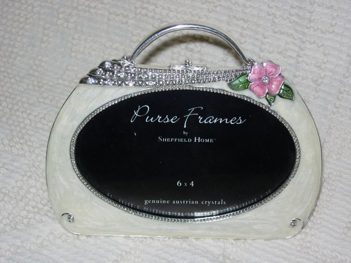 Purse Picture Frame ~ Austrian Crystals