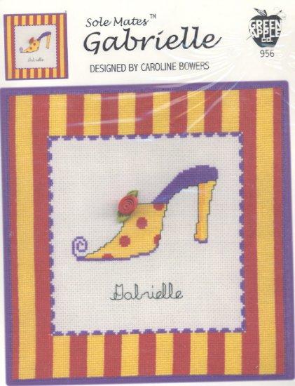Gabrielle ( Shoe ) ~ Cross-stitch Chart
