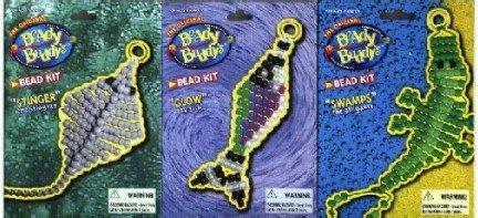 3 Beady Buddy Kits ~ Stingray Fish & Alligator