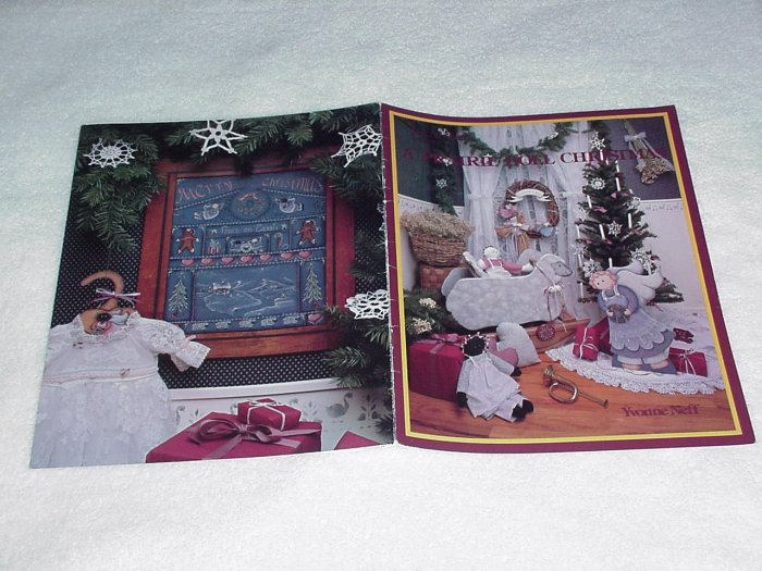 A Prairie Doll Christmas ~ Decorative Painting Booklet
