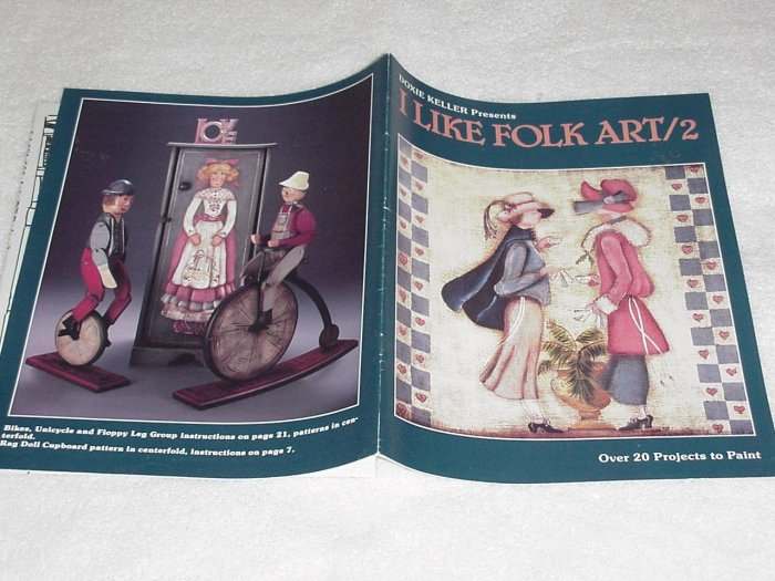 I Like Folk Art / 2 ~ Decorative Painting Booklet 1988