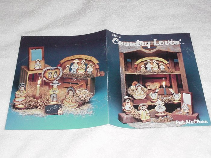 More Country Lovin' ~ Decorative Painting Booklet ~ 1986