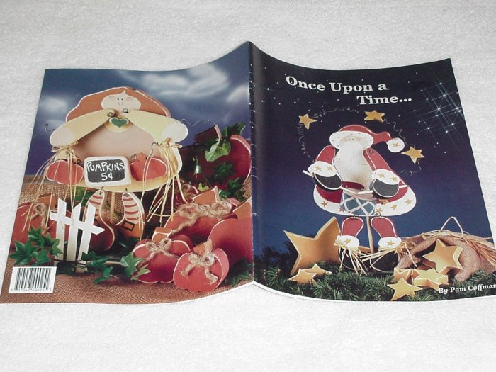 Once Upon a Time ~ Decorative Painting Booklet ~ 1992