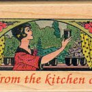 From the Kitchen of ~ Rubber Stamp ~ NEW