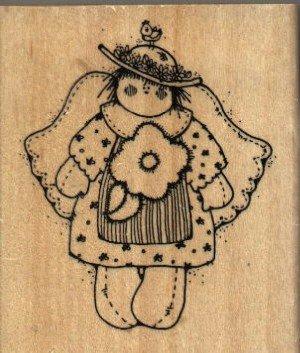 Rag Doll Angel ( Quinn ) ~ Rubber Stamp ~ NEW