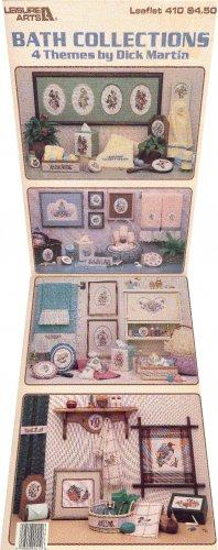Bath Collections 4 Themes ~ Cross-Stitch Chart ~ 1985