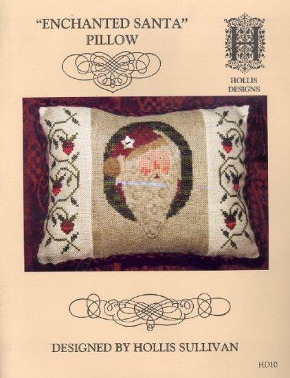 Enchanted Santa Pillow ~ Cross-stitch Chart