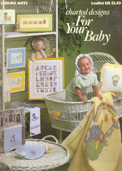 For Your Baby ~ Cross-Stitch Chart 1979