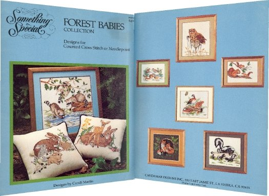 Forest Babies ~ Cross-Stitch Chart 1983