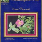 Hummingbird Rose ~ Cross-stitch Chart
