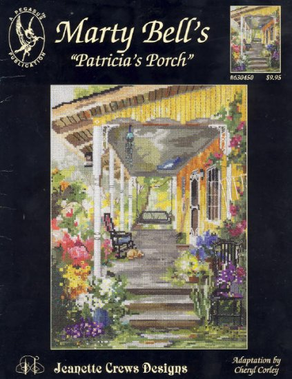 Patricia's Porch ~ Cross-stitch Chart by Marty Bell