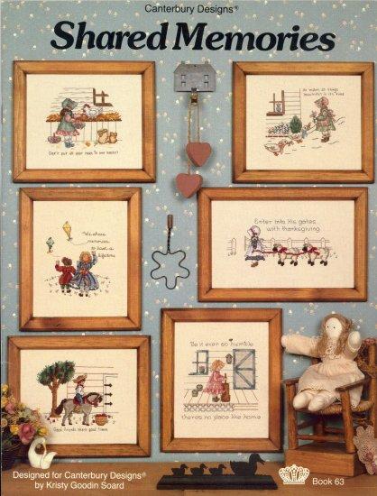 Shared Memories ~ Cross-Stitch Chart 1983