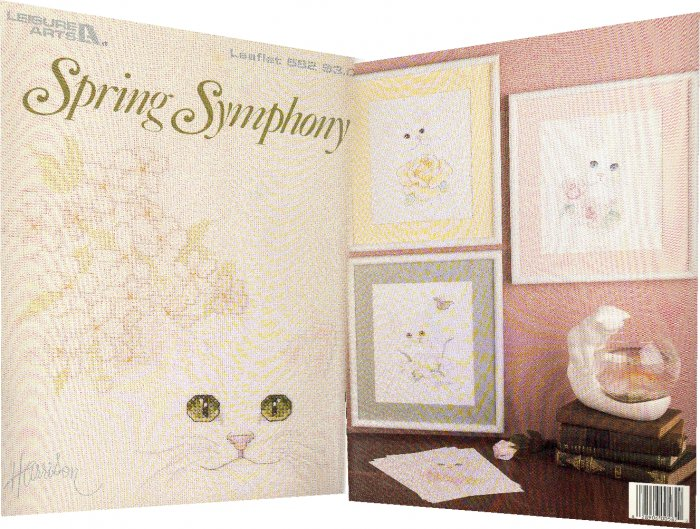 Spring Symphony ~ Cross-Stitch Chart 1987