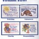 Veritable Verses ~ Cross-stitch Chart