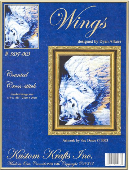 Wings ( horse ) ~ Cross-stitch Chart
