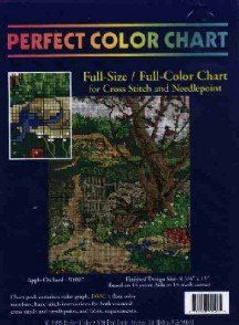 Apple Orchard ~ CHART for Cross-Stitch and Needlepoint