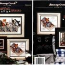 Playful Paws ~ Cross-Stitch CHART (7 Cat designs)