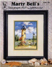 Telegraph Hill Lighthouse ( Marty Bell ) ~ Cross-Stitch CHART