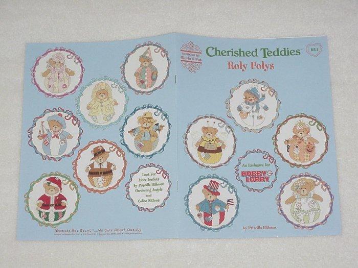 Cherished Teddies ~ Roly Polys ~ Cross-Stitch Book