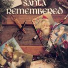 Santa Remembered ~ Antique Post Cards Cross-Stitch Book
