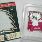 Coca-Cola  ( Coke ) Ornament ~ Polar Bear & Penguin 1997