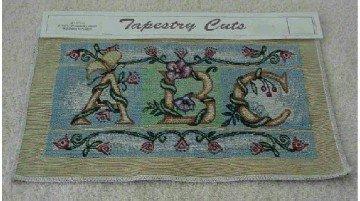 Victorian Alphabet ~ Tapestry Panel