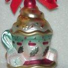 Lenox Glass Ornament ~ Tea Party Tea Cup 2002