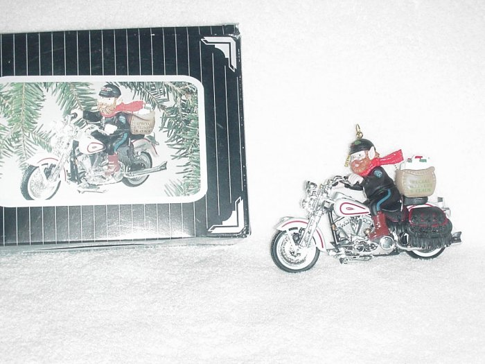 Harley-Davidson Ornament ~ Letters to Santa 1997