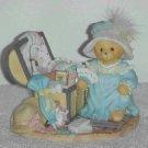 Cherished Teddies Figurine ~ Kaitlyn ( Limited Edition & Retired )
