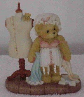Cherished Teddies Figurine ~ Sarah ~ Memories to Wear and Share
