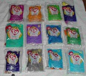 McDonalds 1998 Teenie Beanies 12 total