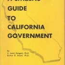 A Citizens Guide to California Government ~ Book 1955