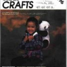 McCall's # 2196 ~ Bear Hugs a Panda Bear Backpack
