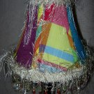 Bright Colors Fun Beaded Lampshade