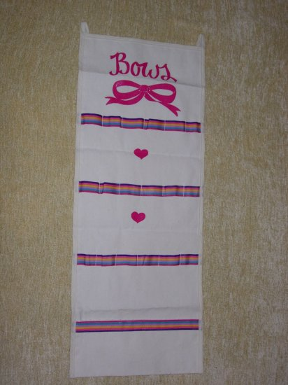 Painted Bow Holder for Girls