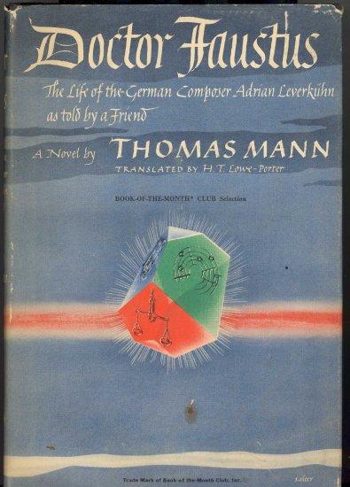 Doctor Faustus Book by Thomas Mann ~ Book 1948