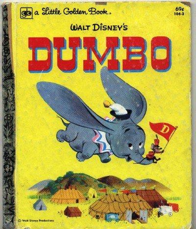 Dumbo ~ Little Golden Book 1980