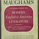 Introduction to Modern English & American Literature by W. Sommerset Maugham ~ Book 1943