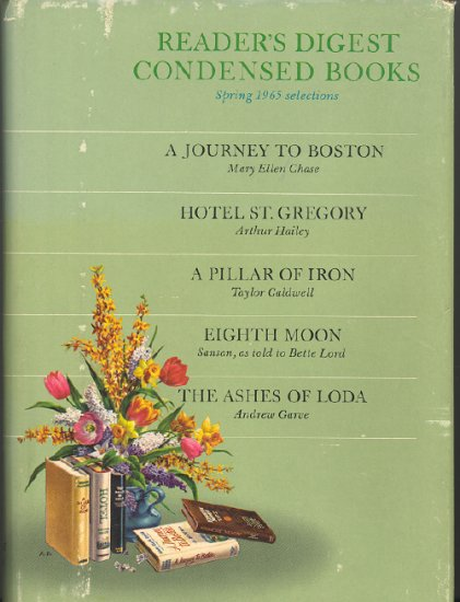 Reader's Digest Condensed Books ~ Spring 1965 vol 2
